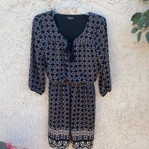Lily Rose Black Mini Dress Size Medium